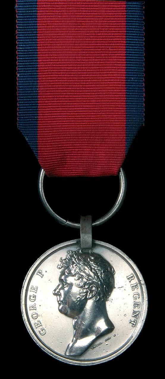 Medals: *Waterloo, 1815 (Charles Muller, 1st Line