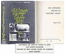 First Printing of ''Do Androids Dream of Electric Sheep'' by Sci-Fi Legend Philip K. Dick -- The Novel That Inspired The Film ''Blade Runner''