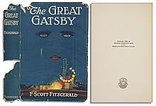 Exceedingly Rare First Printing Dusjacket of ''The Great Gatsby'' -- Much More Rare Than the Legendary Novel It Houses
