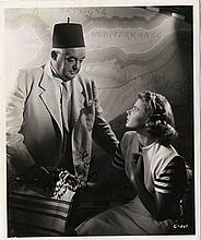Rare Sydney Greenstreet 8'' x 10'' Signed Photo From ''Casablanca'' -- With PSA/DNA COA