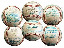 World Champion New York Yankees 1961 Team-Signed Ball -- Roger Maris, Yogi Berra, Tony Kubek and More -- With PSA/DNA COA