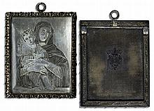 Duchess of Windsor Wallis Simpson Personally Owned Engraving of Madonna and Child