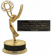 2006 Emmy Presented in the Category of Advanced Media - Interactivity to Kalie Kimball-Malone, VP Creative Director of Worktank