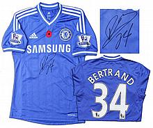 Ryan Bertrand Chelsea Shirt Signed