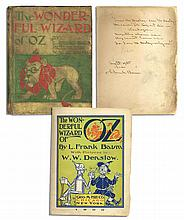 L. Frank Baum Signed and Dedicated ''Wonderful Wizard of Oz'' -- With Scarce Poem Handwritten by Baum -- ''...Mosquitoes charm me / They cannot harm me / For I am Mr. Dooley-ooley-oo!...''