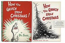 True First Edition, First Printing of ''How The Grinch Stole Christmas'' in Beautiful Condition -- With Well-Preserved Dustjacket
