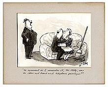 Shrek Creator William Steig Hand-Drawn ''New Yorker'' Cartoon