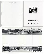 Rare ''Every Building on the Sunset Strip'' by Edward Ruscha, Early Edition From 1966