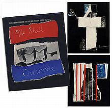 ''We Shall Overcome'' First Edition Portfolio From the ''March on Washington'' -- Scarce Complete Portfolio of Five Collages Issued by the National Urban League as a Memento for Marchers