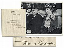 Eleanor Roosevelt Typed Letter Signed Shortly After WWII as Delegate to the United Nations