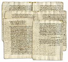 16th Century Order Issued by Pope Clement VIII -- Document Brings Uniformity to Religious Rituals -- ''...corrupt and changed ceremonies and rites...are to not be used...''