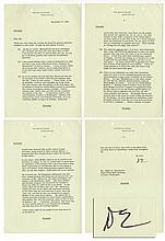 Dwight D. Eisenhower White House Typed Letter Signed -- ''...The only reason I got into politics in the first place...''