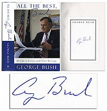 President George H.W. Bush Signed Copy of ''All The Best''