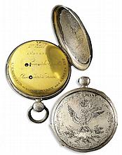 Napoleon Bonaparte's Watch, Engraved and Gifted by Napoleon to His Protege, Baron Desgnettes -- Documented as Originally Owned by Monaco's Royal Family
