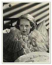 1935 Bette Davis Photo From ''Dangerous'' -- Stamped by Photographer Bert Six to Verso -- 8'' x 10'' -- Crease to Corner, Very Good