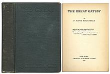 First Printing of F. Scott Fitzgerald's Literary Classic, ''The Great Gatsby''