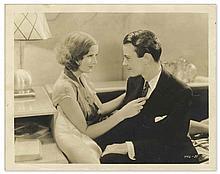 1929 Vintage Photo of Greta Garbo & Lew Ayres in ''The Kiss'' -- Silver Gelatin Publicity Image -- 8'' x 10'' -- Slight Creasing & Toning, Very Good
