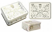 Prince William & Princess Kate Wedding Cake Slice -- Housed in Beautiful Commemorative Tin