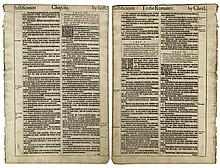 King James Bible Page From 1613
