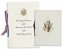 President Ronald Reagan 1985 Inaugural Invitation & Memorabilia