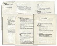 Jackie Kennedy White House Document -- Detailing the Famous Renovation of the White House