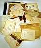 Vintage & Antique ESTATE EPHEMERA Letters Correspondence WWI Ambulance Corps ID Photographs Wills Contract Passport Telegram WWII