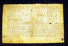 Antique 17th Century PLYMOUTH BAY COLONY DEED OF SALE 1693 Legal Document Swansea Massachusetts Bristol County Property John Butterworth Joseph Mason Colonial America