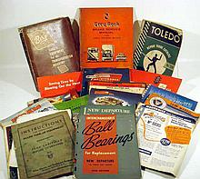 24V Antique & Vintage AUTOMOTIVE & TRUCK EPHEMERA Booklets Repair Instruction Manuals Catalogs GM Chrysler Bendix-Westinghouse Berg Fruehauf