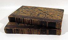 2V William Shakespeare CHEFS D'OEUVRE DE SHAKSPEARE 1826 Antique Drama Byron Macpherson Brugiere Translation Into French Decorative Leather