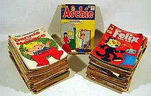 115V Vintage Collectible 1960s COMIC BOOKS Archie Comics Dell Harvey Betty Veronica Dennis the Menace Little Audrey Hot Stuff Felix Heckle & Jeckle