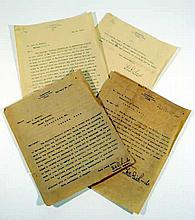 3 Pc. Antique Ephemera AUTOGRAPH LETTERS from CUBA Spanish-American War First U.S. Occupation Adjutant General W. Richards Don Jose Maria de Cardenas y Rodriguez Library Books University of Havana Luis A. Baralt
