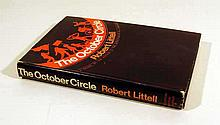 Robert Littell THE OCTOBER CIRCLE 1976 First Printing Novel Spy Thriller Cold War Eastern European Communism Scarce Dust Jacket