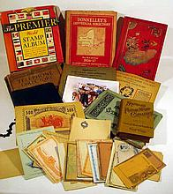 Antique & Vintage PHILATELY & TELEPHONE BOOKS Stamp Collecting Albums Catalogue Foreign Unused Postpaid Envelopes Postcards Domestic Phone Directories Pittsburgh Hornell Montgomery County PA Suburban Philadelphia