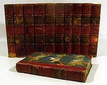 11V THE HISTORICAL WORKS OF WILLIAM ROBERTSON WITH AN ACCOUNT OF HIS LIFE & WRITINGS 1818 Antique World History Plates