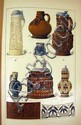 Edouard Garnier DICTIONNAIRE DE LA CERAMIQUE 1893 Antique Reference Work Monograms Pottery Faience Stoneware Color Plates