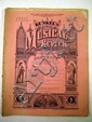Victorian SHEET MUSIC Antique 19th Century Pop Culture