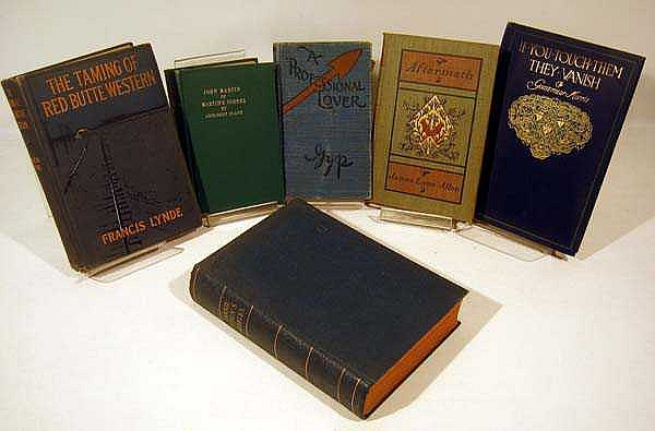 6V Decorative Antique NOVELS & LITERATURE Western Fannie Eden Gyp