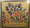 HENRI MATISSE RETROSPECTIVE 1966 Vintage Exhibition Poster UCLA Art Council Mourlot
