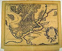 Nicolas Sanson / Pierre Mariette ANAPLUS BOSPHORI THRACII 1700 Antique Cartography Decorative Map Of Straits Of Bosphorus Constantinople Turkey