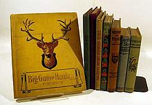 8V Illustrated DECORATIVE ANTIQUE CHILDREN'S Big Game Hunting Chromolithographs History France George Washington Earth & Sky Birds Kids Of Many Colors True Stories