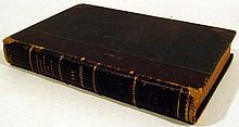S S Uvarov / L Marsh ESSAY OF THE MYSTERIES OF ELEUSIS / THE APOCATASTASIS 1817/1854 First Editions Antique History Philosophy Decorative Leather