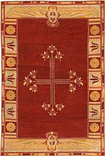 Antique Amritsar Rug 3297