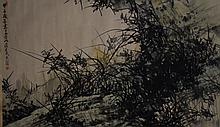 Chinese Hand painted,  Hanging scroll