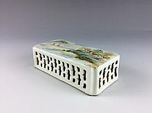 Chinese Republic porcelain, paper weight