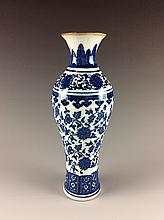 Chinese blue & white ink stand
