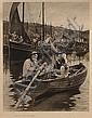 Stanhope Alexander Forbes RA (1857-1947) Goodbye, Off to Skibbereen monochrome print
