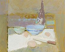 George Kennerley (1908-2008) Still Life with Bottle