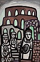 Markey Robinson (1918-1999) Celtic Figures