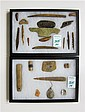 TWO CASES COLLECTIONS OF NATIVE AMERICAN INDIAN
