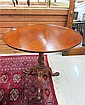 ROUND TILT-TOP TEA TABLE, American, 19th century,